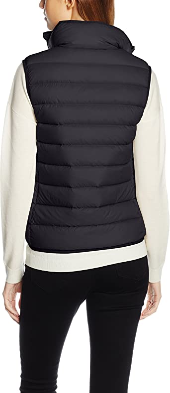 Polo Ralph Lauren V32 WSW Vest, Chaleco para Mujer, Negro Black ...