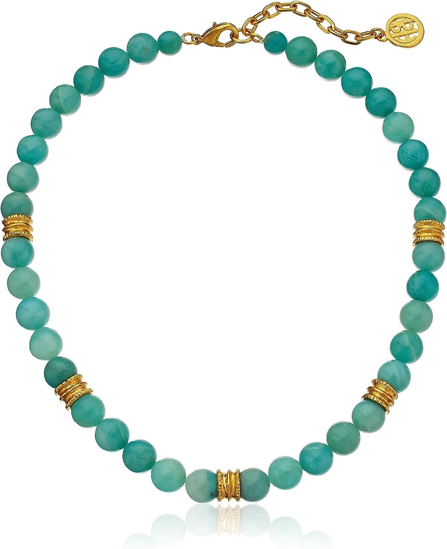 The Road Less Traveled Amazonite Necklace