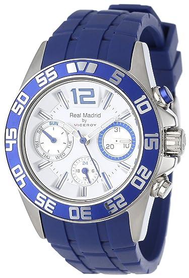 Viceroy 432842-05 - Reloj de Pulsera Mujer, Acero Inoxidable, Color Azul: Amazon.es: Relojes