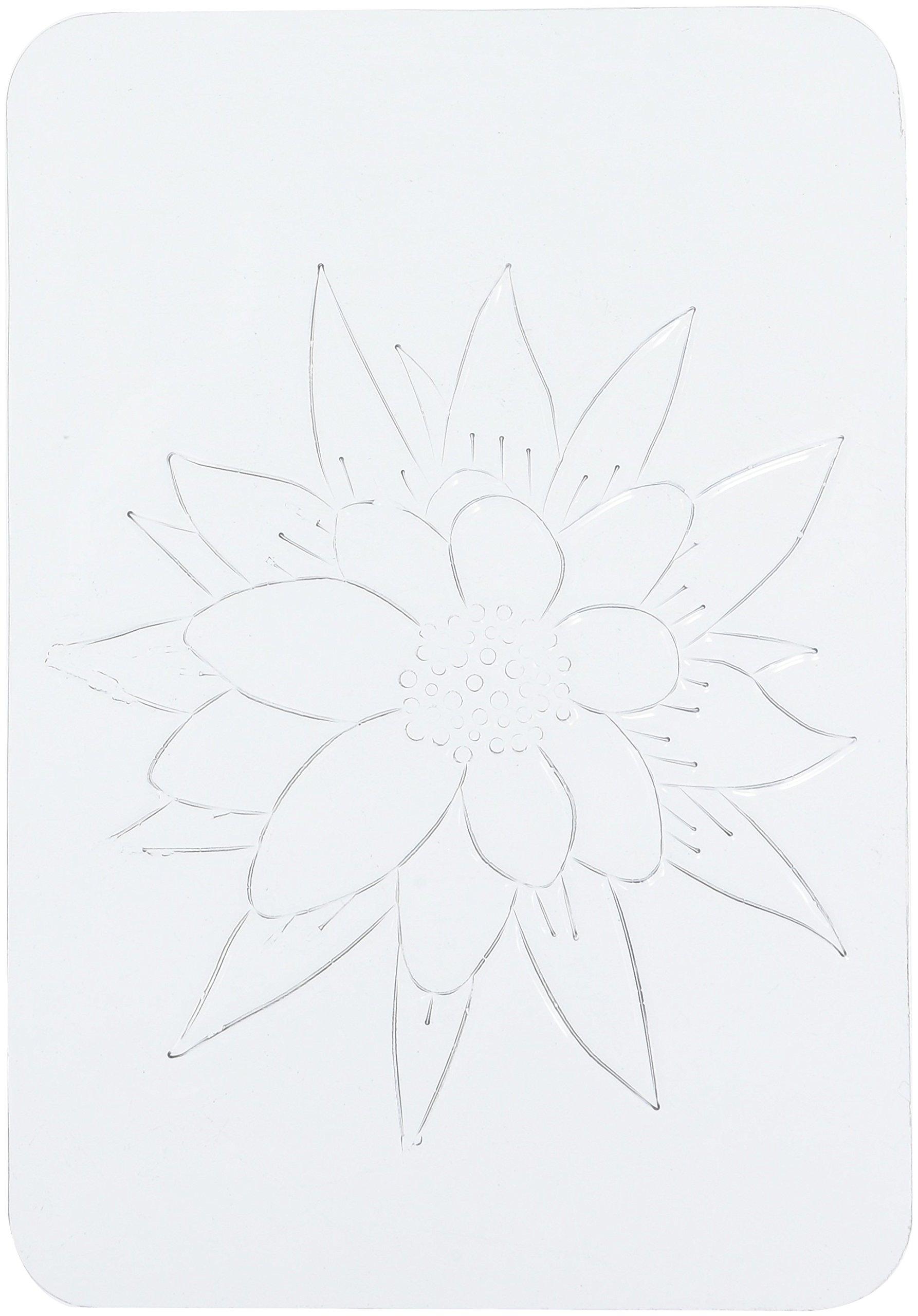 Roylco Flower Rubbing Plates by Roylco