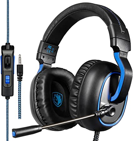 Stereo Bluetooth Gaming Headset Headphone Earphone Mic For PC Laptop Computer R7