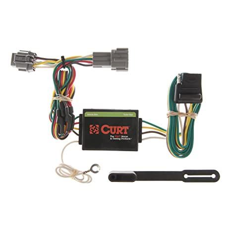 amazon com: curt 55362 vehicle-side custom 4-pin trailer wiring harness for  select nissan frontier, quest, mercury villager: automotive