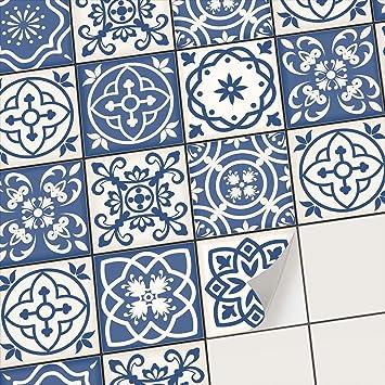 Creatisto Carrelage Adhesif   Stickers Salle De Bain Et Cuisine   Feuille  Adhésive Décorative Carreaux