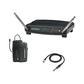Audio-Technica System 8 atw-801/g-t8 sistema de guitarra inalámbrico