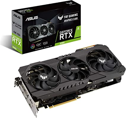 ASUS TUF GeForce RTX 3080 OC Edition Graphics Card