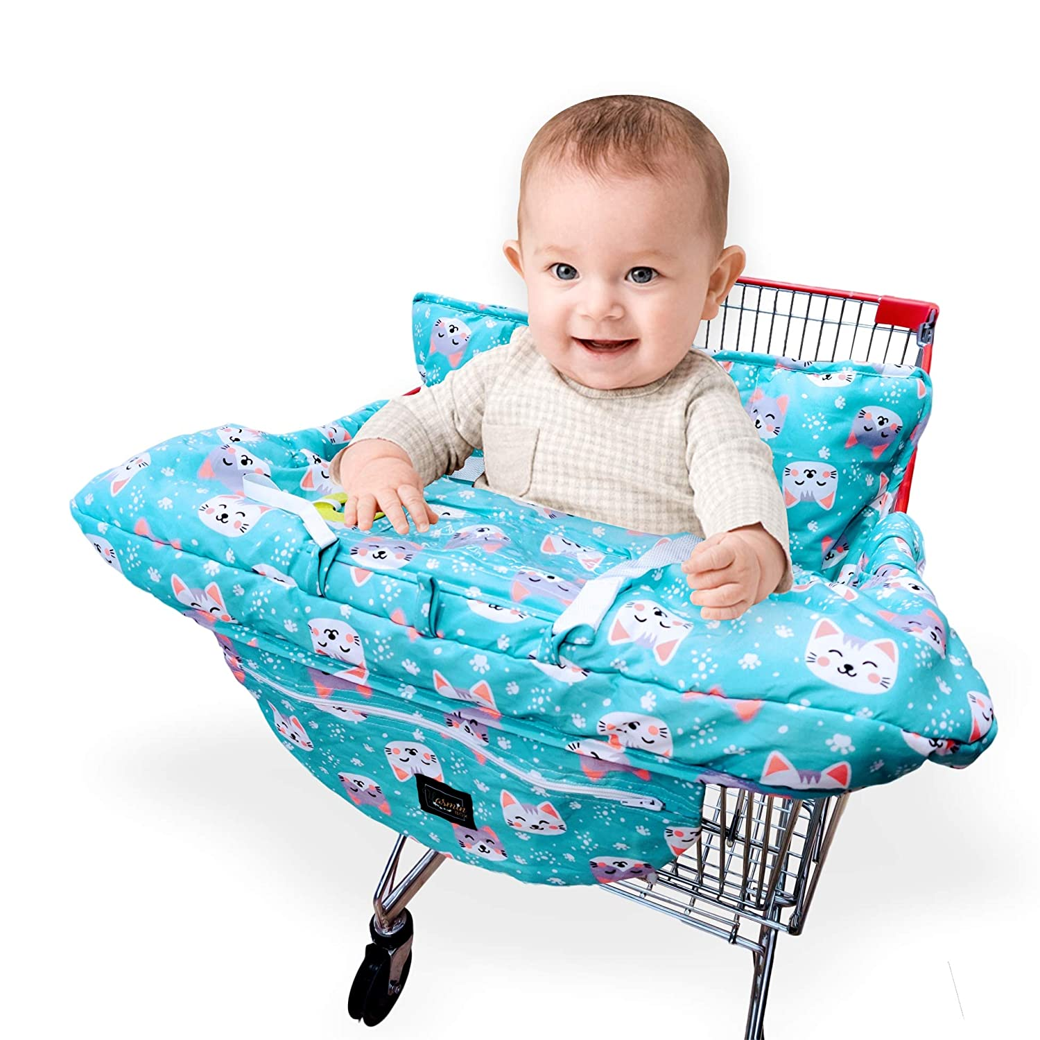 Grocery Cart Cover For Baby Shopping Portable Infant Dining Seat Toddler Safety