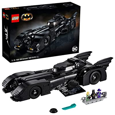 LEGO DC Batman 1989 Batmobile 76139 Building Kit, New 2020 (3,306 Pieces): Toys & Games