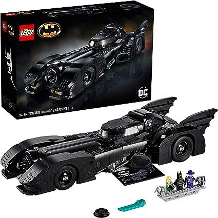Amazon Com Lego Dc Batman 1989 Batmobile 76139 Building Kit New 2020 3 306 Pieces Toys Games