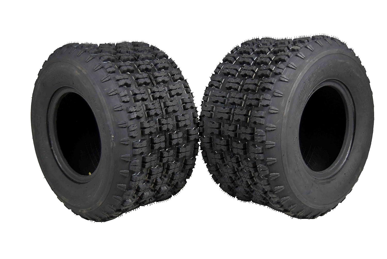 MASSFX 20' Rear ATV Tire Set 20x11-9 Tire 4 PLY 20x11x9 MO20119 2 Pack