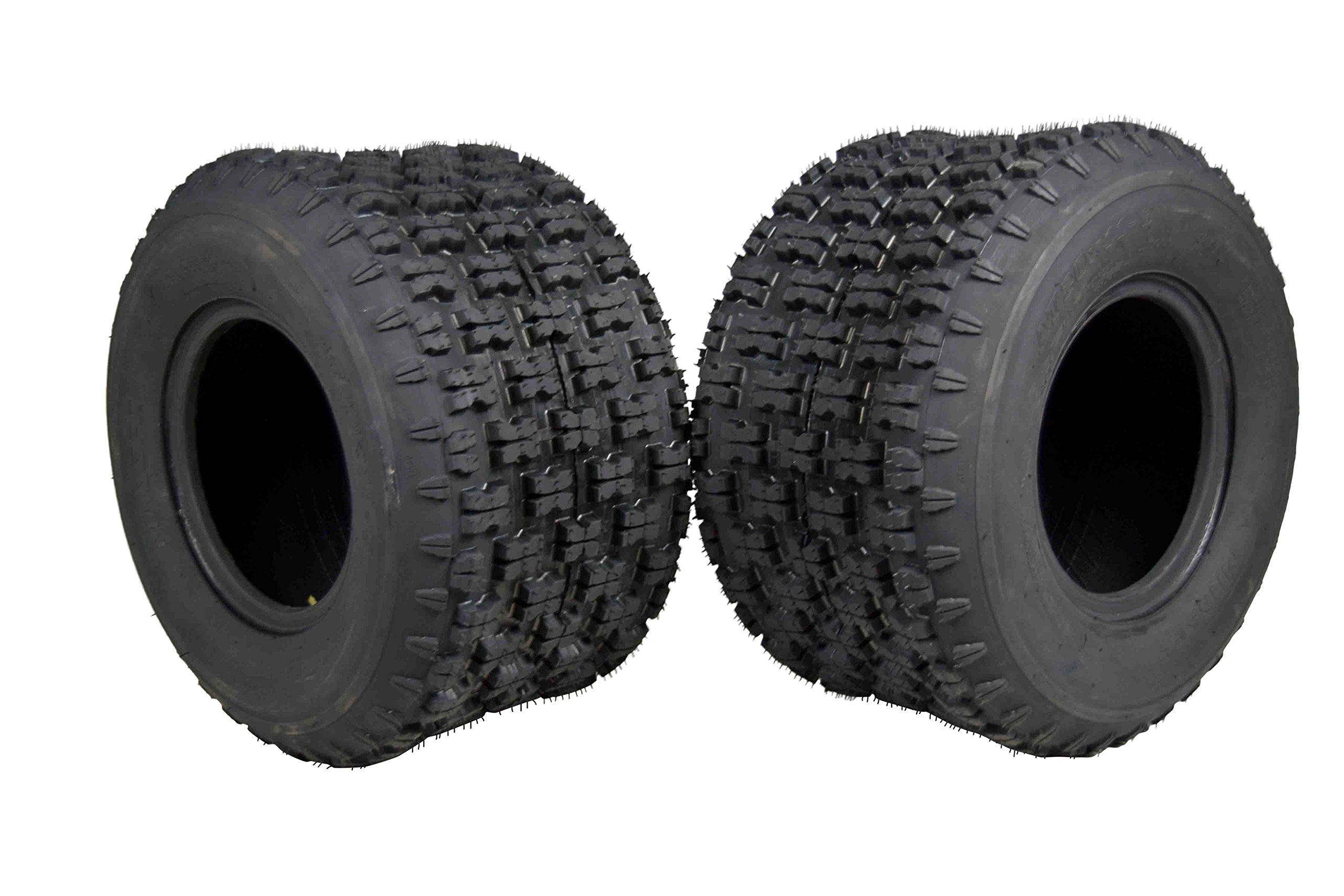 MASSFX 20'' Rear ATV Tire Set 20x11-9 Tire 4 PLY 20x11x9 MO20119 2 Pack by MASSFX (Image #1)