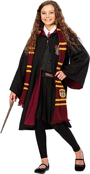 Charades Deluxe Child Hermione Fancy Dress Costume Large: Amazon ...
