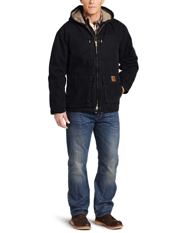 Carhartt Men's Jackson Coat Sherpa Lined Sandstone C95