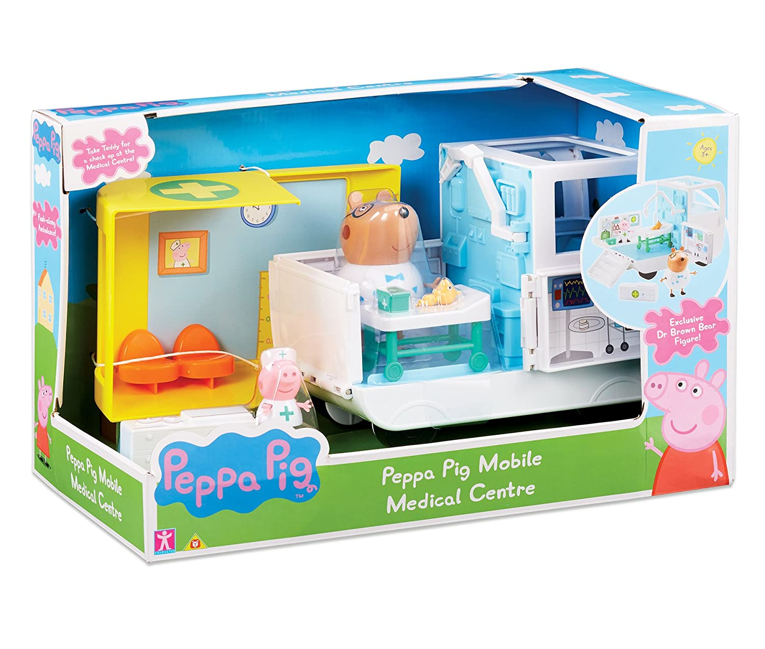 Peppa Pig 6722 Mobile Medical Centre, Multi-Colour Character Options