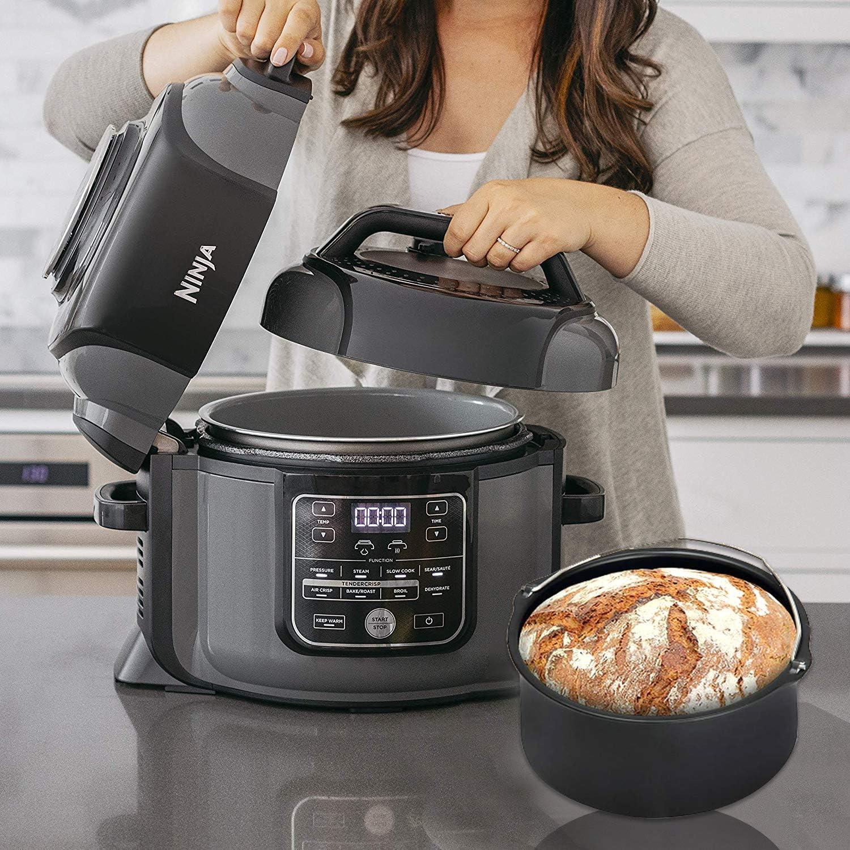 Pressure Cooker, Steamer & Air Fryer Accesories Compatible with Ninja Foodi 6.5&8qt(OP301,OP302,OP401,FD401)