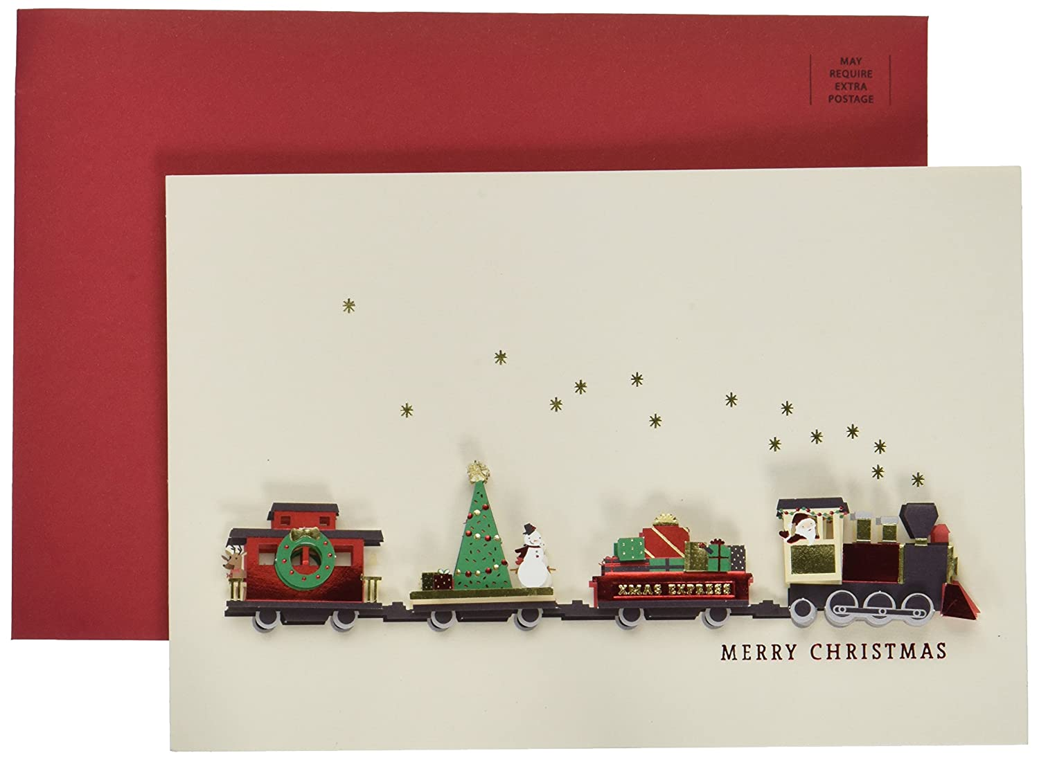 Amazon.com: Hallmark Signature Greeting Christmas Card (Christmas ...