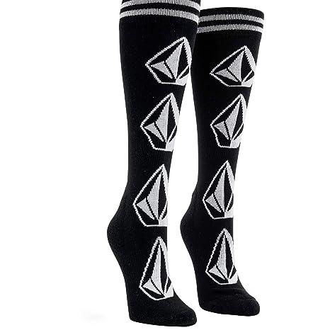 Volcom Sherwood - Calcetines de nieve para mujer, color negro y ml