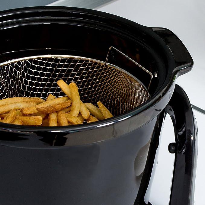 Freidora sin aceite multifunción, cocina dietética. Fríe, tuesta, asa y hornea. Potencia de 1000W. Incluye recetario. CecoFry Compact de Cecotec (5 litros): ...