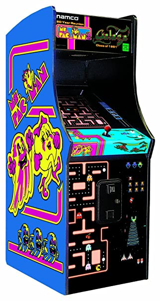 Amazon.com: Ms. Pac-Man / Galaga Class of 1981 Arcade Gaming ...