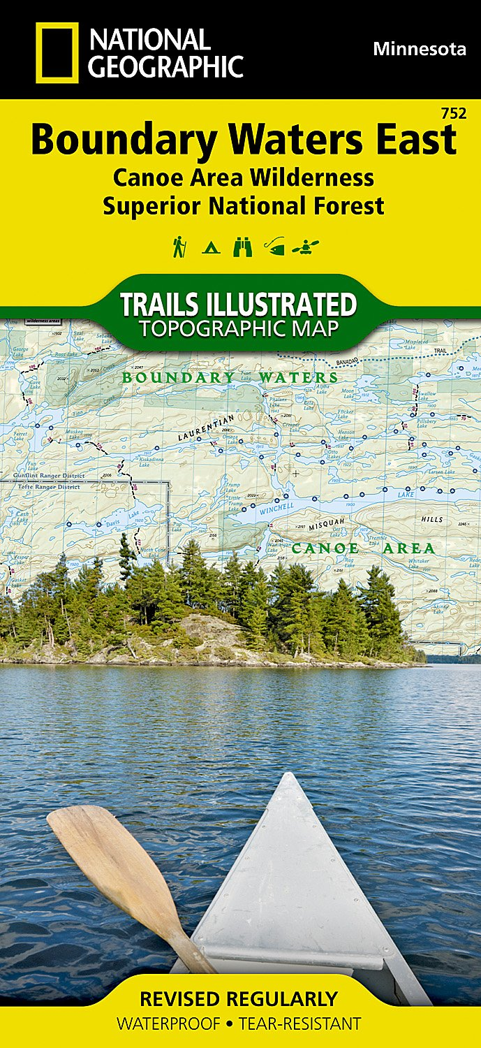 Boundary Wilderness Superior Geographic Illustrated product image