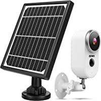 Outdoor Security Camera System Wireless, 1080P Solar Powered Home Security Camera System with Rechargeable Battery…