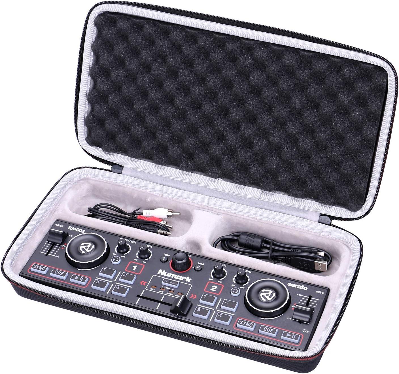 NUMARK DJ2GO2 | 포켓 DJ 컨트롤러 용 LTGEM EVA 하드 케이스-여행 보호 운반 보관 가방