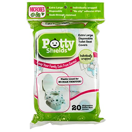 10 pcs//lot Disposable Toilet Seat Covers Extra Large 10 Packs Perfect for Adults and Kids Potty Training Home Travel Use with Individually Wrapped
