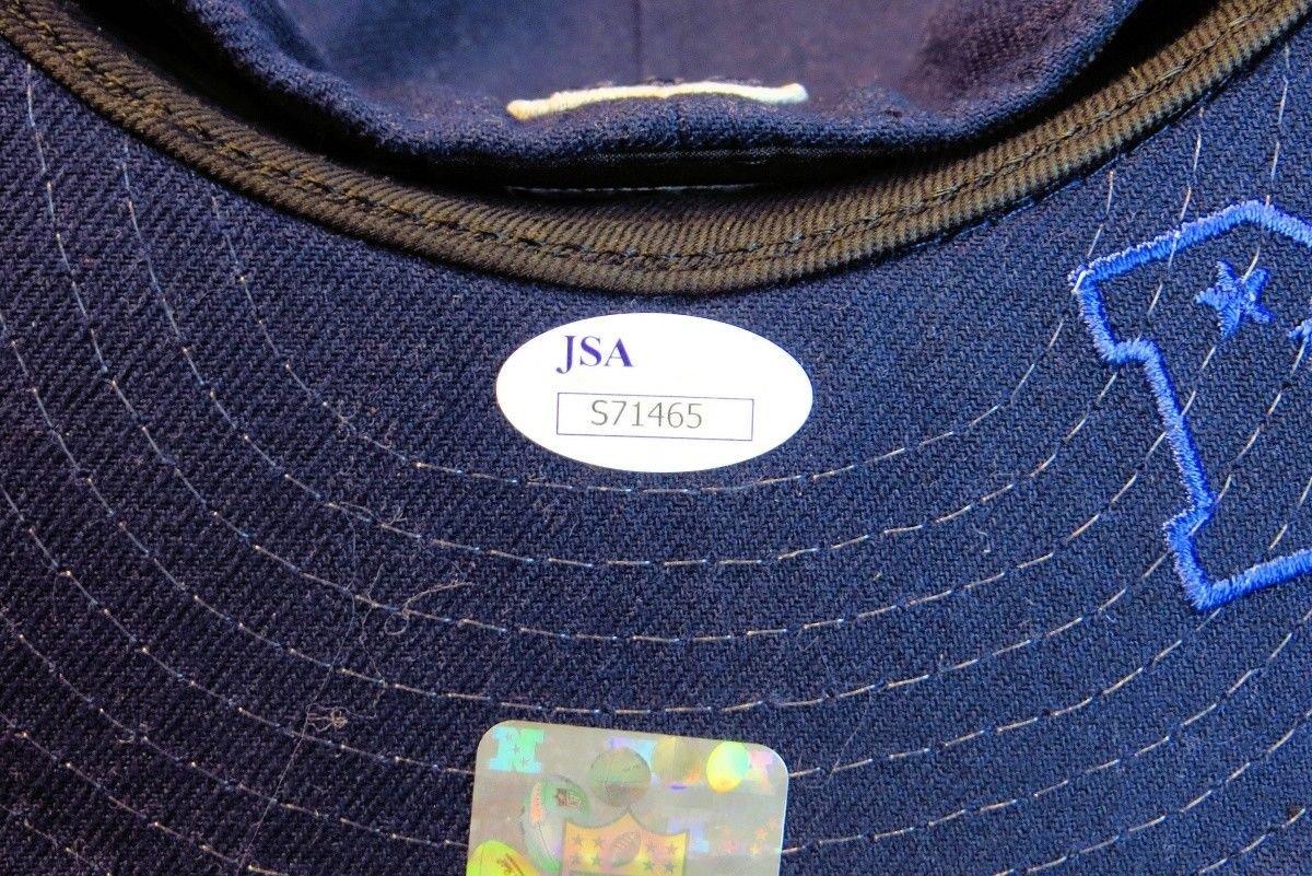 Dak Prescott Autographed Signed Dallas Cowboys Hat New Era JSA S71465