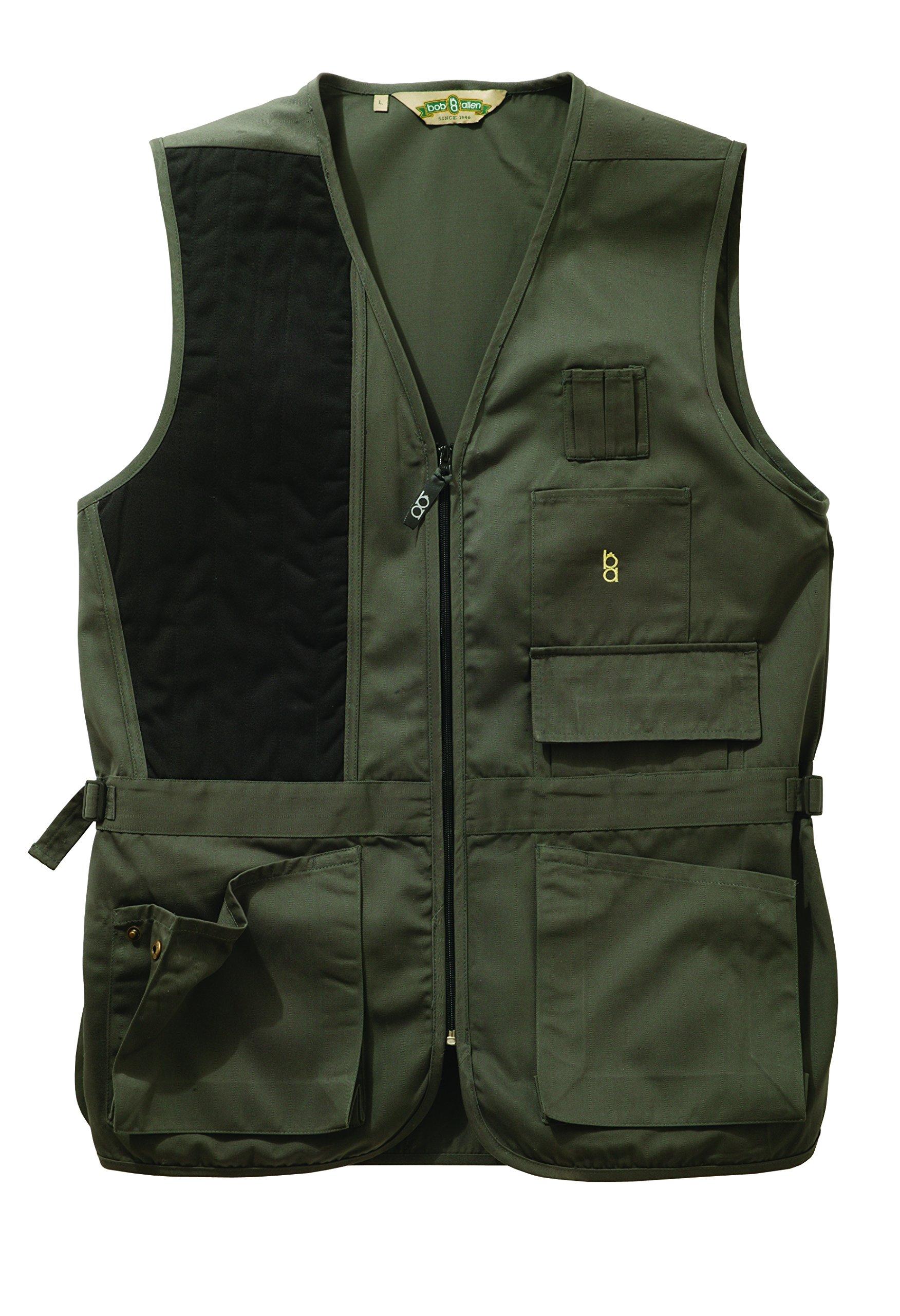 Bob-Allen 30190 240S Shooting Vest, Right Handed, Sage, Medium