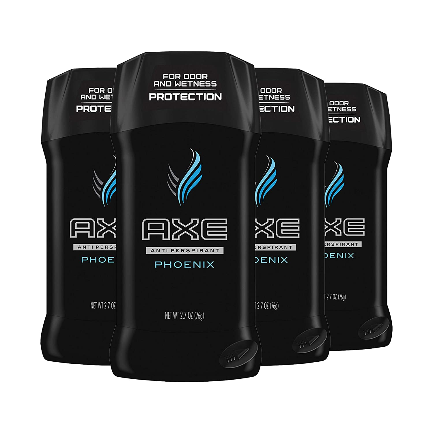 AXE Antiperspirant Deodorant 48 Hour Sweat and Odor Protection Phoenix Deodorant for Men 2.7 oz, 4 Count : Beauty