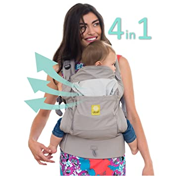 4af4ad9021b Amazon.com   LÍLLÉbaby 4 in 1 ESSENTIALS All Seasons Baby Carrier ...