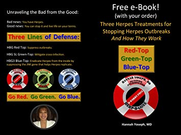 HERP-B-GONE - Herpes, Cold Sores and Shingles: Suppress Herpes and Live  Life on