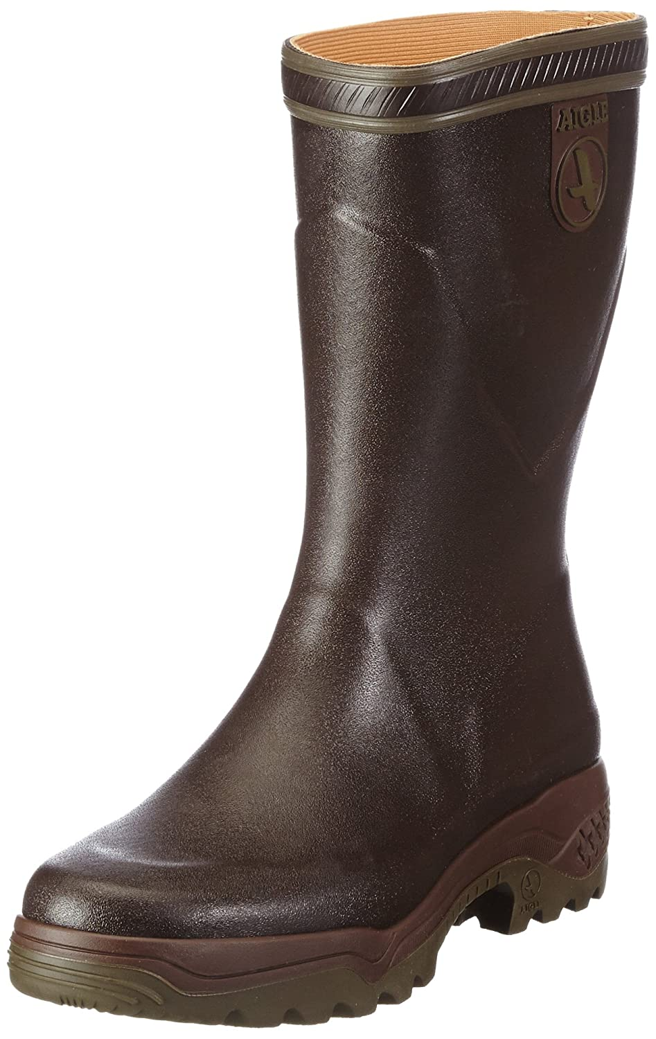 Brown (Brown) Aigle Unisex Adults' Parcours 2 Bottillon Work Wellingtons