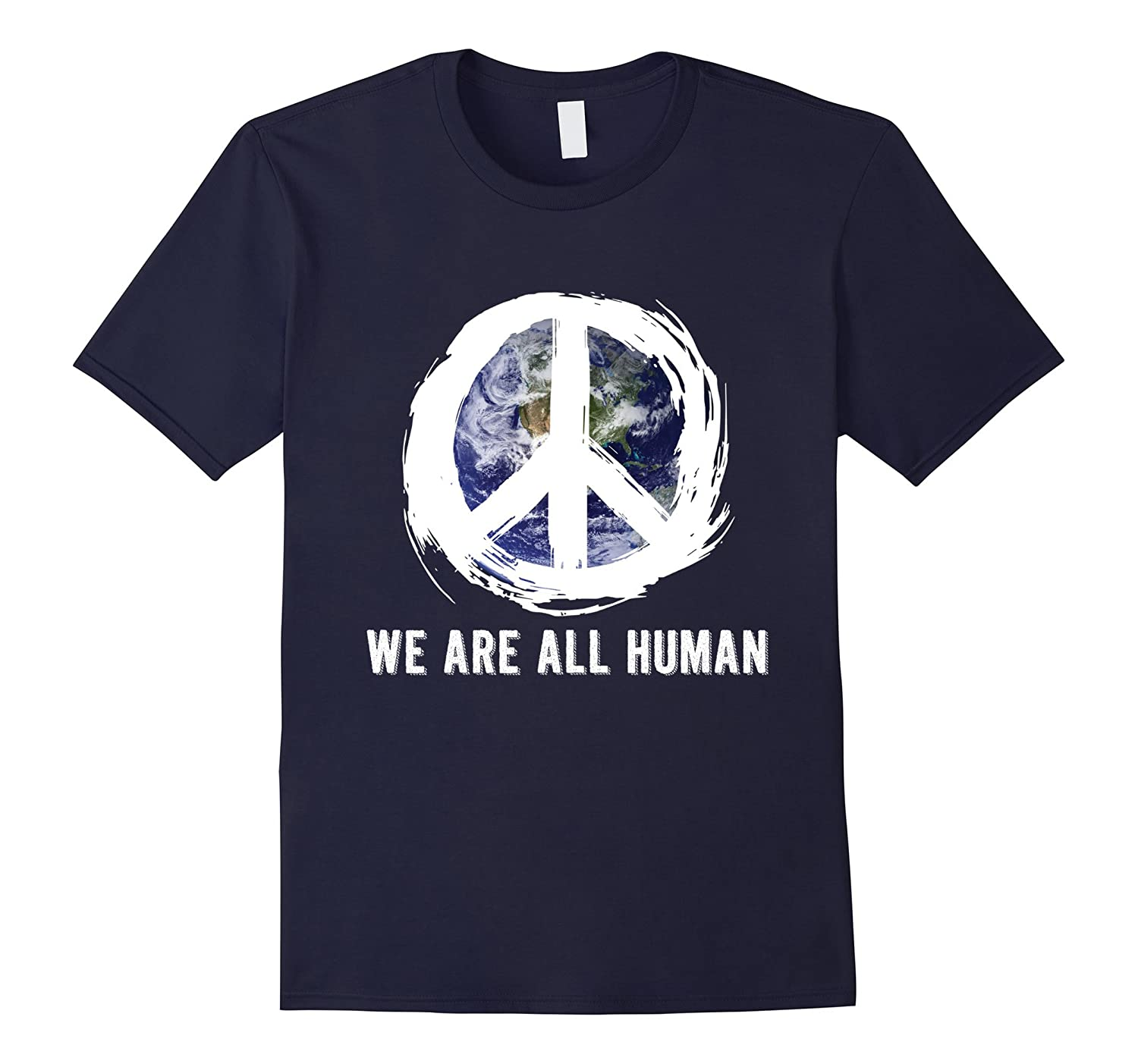We are al Human Earth day T-shirt-TD