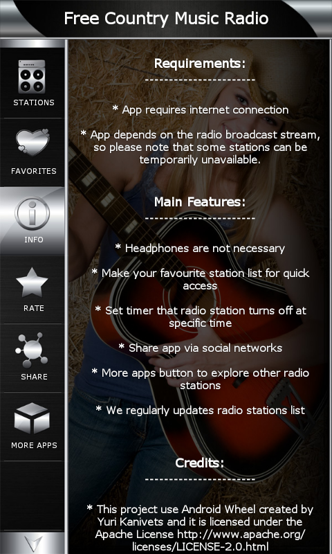 free country music radio