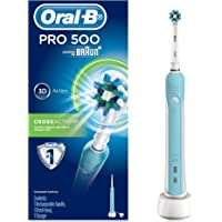 Oral-B PRO 500 –  Rechargeable Electric Toothbrush – Powered by Braun