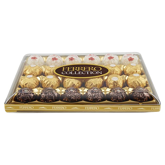 Ferrero - Bombones Collection (24 unidades) 249 g: Amazon.es: Alimentación y bebidas