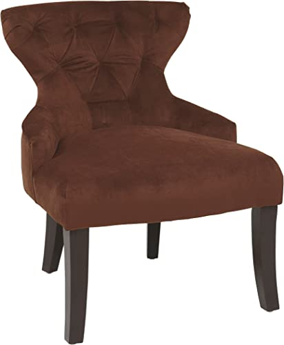 AVE SIX Curves Hour Glass Accent Chair