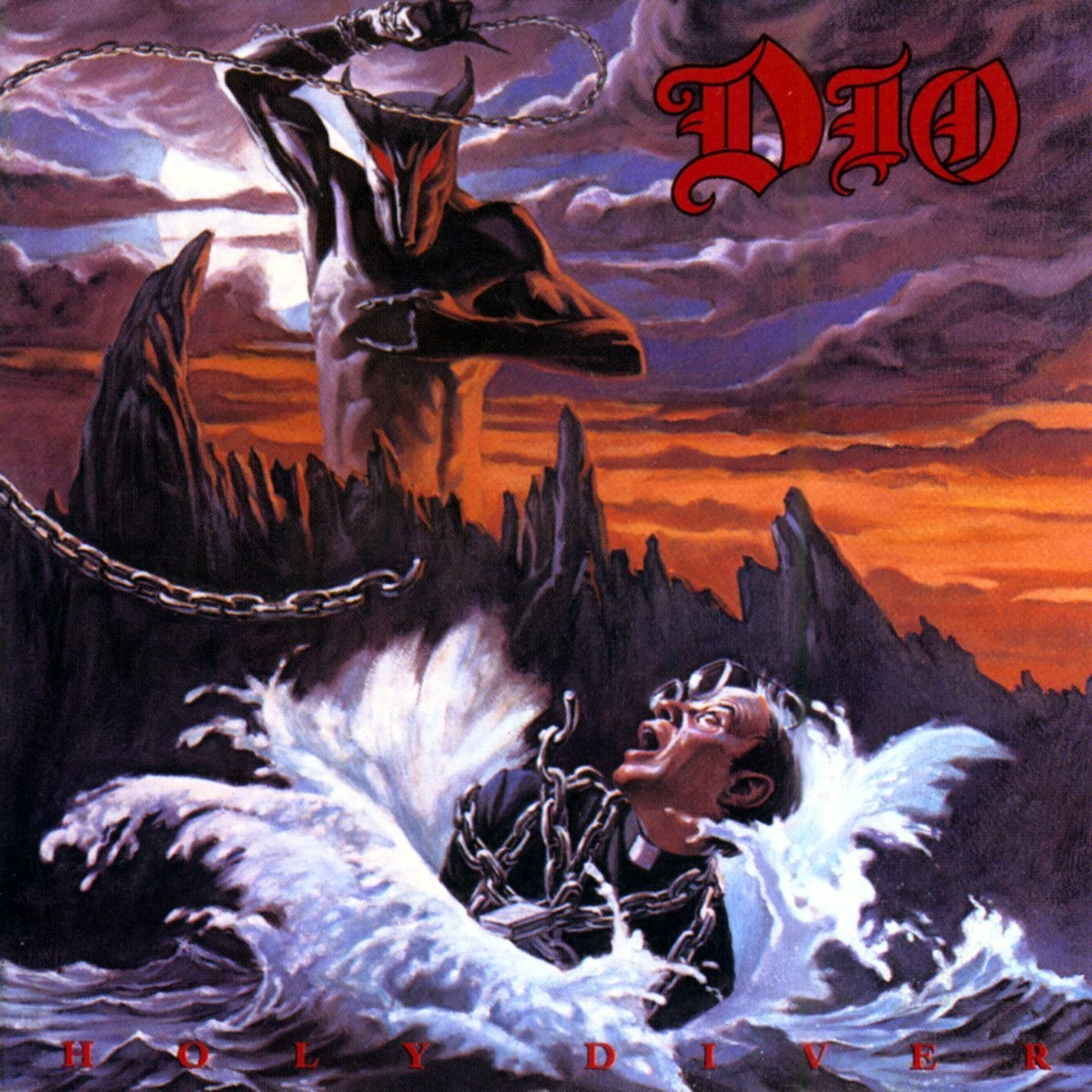 Vinilo : Dio - Holy Diver (Colored Vinyl, Red, Remastered)