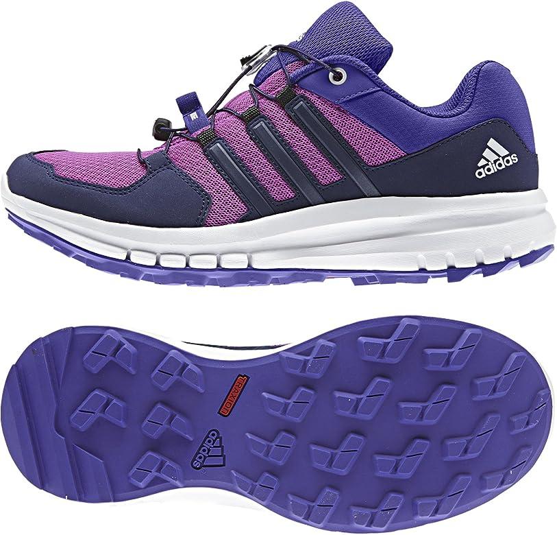 adidas Duramo - Zapatillas deportivas para mujer (6,5 m), color morado: Amazon.es: Zapatos y complementos