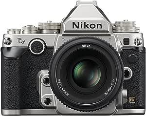 Nikon Df 16.2 MP CMOS FX-Format Digital SLR Camera with AF-S NIKKOR 50mm f/1.8G Special Edition Lens (Silver)