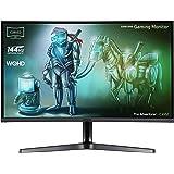 Samsung LC32JG52QQUXEN 32-Inch Curved WQHD 144 Hz LED Gaming Monitor - Dark Silver