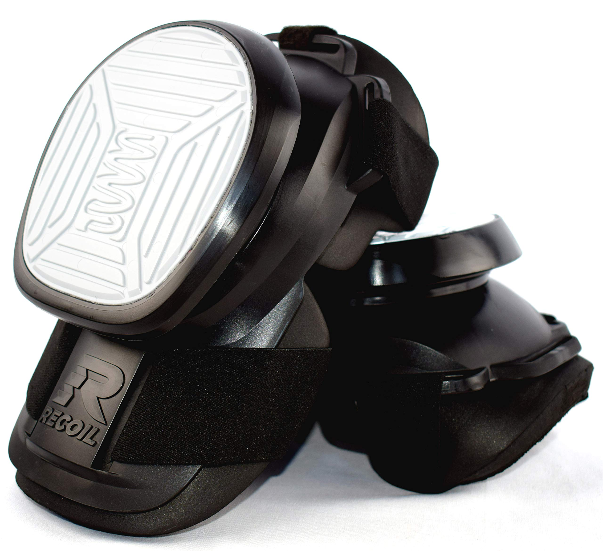 Recoil Knee Pads for Work - Professional Heavy Duty Spring Loaded Kneepads for Construction, Tiling, Flooring, Roofing and General DIY by Recoil