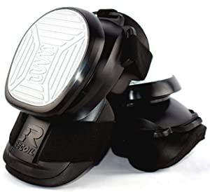 Recoil Knee Pads for Work - Professional Heavy Duty Spring Loaded Kneepads for Construction, Tiling, Flooring, Roofing and General DIY