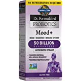Garden of Life Dr. Formulated Probiotics Mood+ - Acidophilus Probiotic Supplement - Promotes Emotional Health…