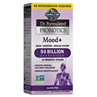 Garden of Life Dr. Formulated Probiotics Mood+ - Acidophilus Probiotic Supplement...