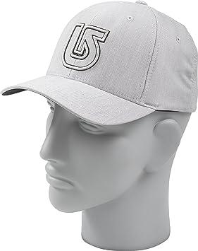 Burton Striker Flexfit - Gorra de béisbol para hombre gris pewter Talla:1SZ: Amazon.es: Deportes y aire libre