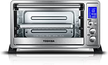Toshiba Digital Toaster Oven With Convection Cooking and 9 Functions