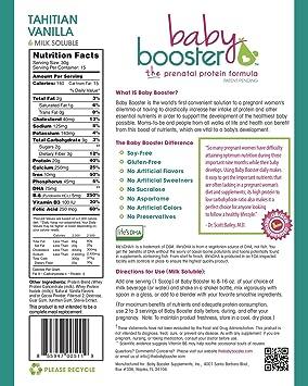 Amazon.com: Prenatal Vitamina Suplemento Shake – Baby ...