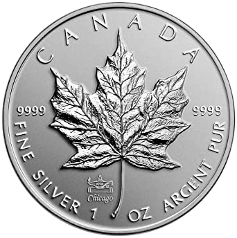 2014 Canada $5 1oz Reverse Proof Silver Maple Leaf Coin 9999 fine Canadian
