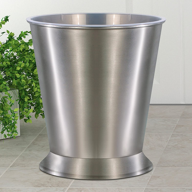 9-Quart NU-Steel RM8H nu steel Rosemont Wastebasket